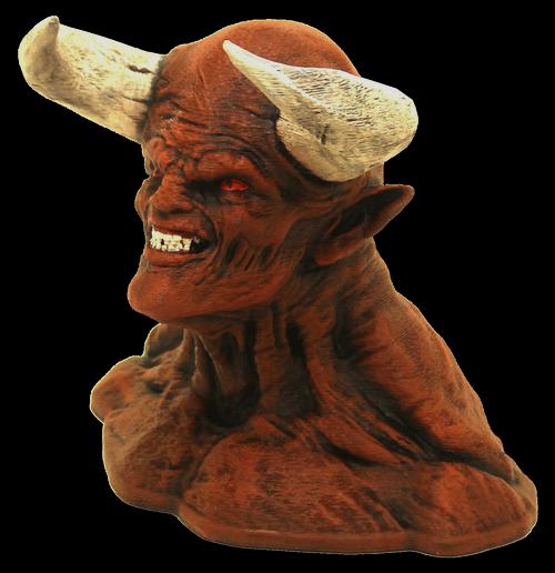 boutique : buste statuette diablo