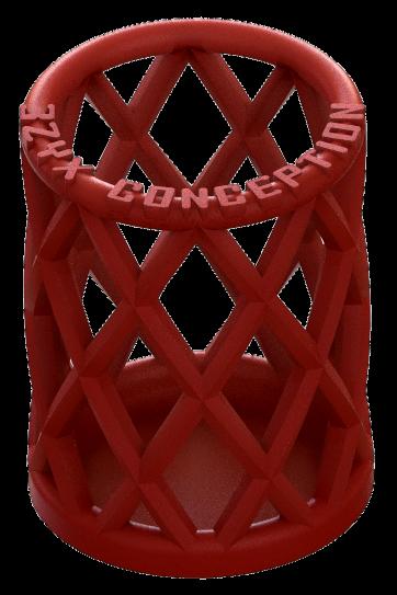 pot a crayon modelise en 3D