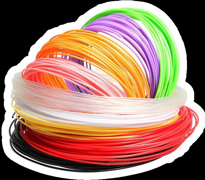 couleurs, matériaux PLA ABS PET