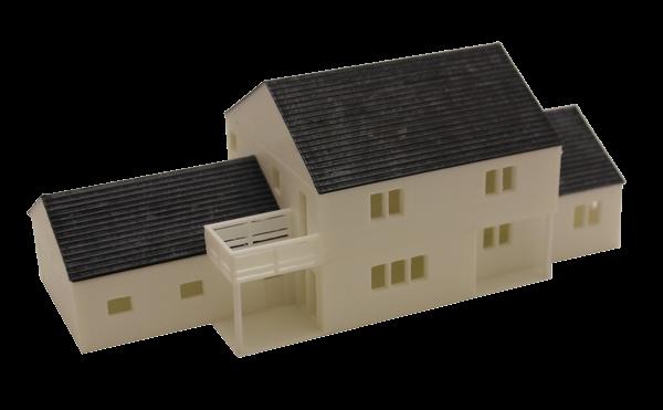 maquette imprimée en 3D assemblée