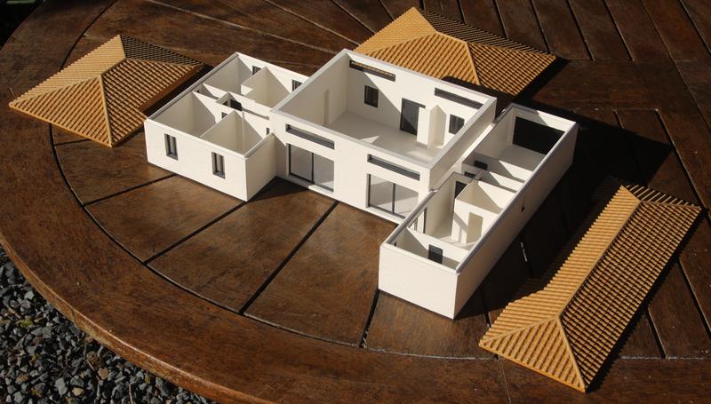 impression 3D des éléments de la maison