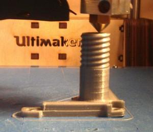 tête d'imprimante 3D à dépôt de filament fondu